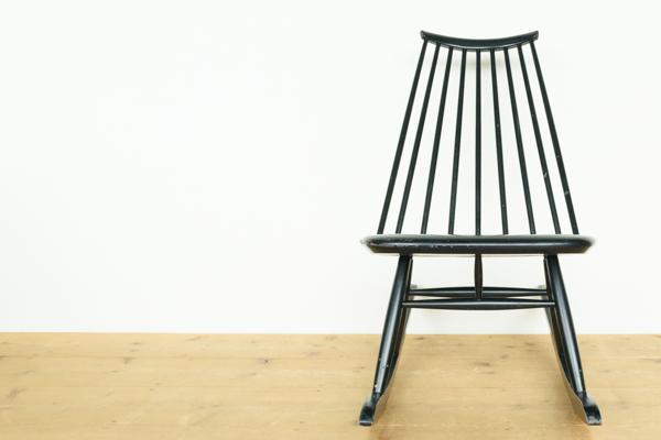 北欧家具 イルマリ・タピオヴァーラ マドモアゼル ロッキングチェア