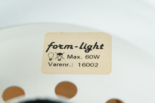 北欧家具 form light ペンダントランプ