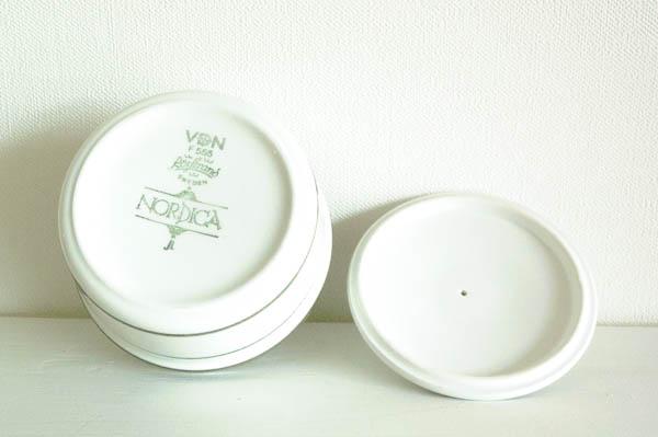 北欧雑貨 スウェーデン ロールストランド ノルディカ シュガーポット