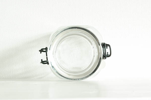 北欧雑貨 フィンランド ビンテージ ガラスキャニスター ITALY