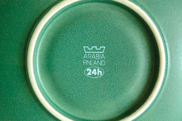 北欧雑貨 フィンランド アラビア 24h カップ&ソーサー