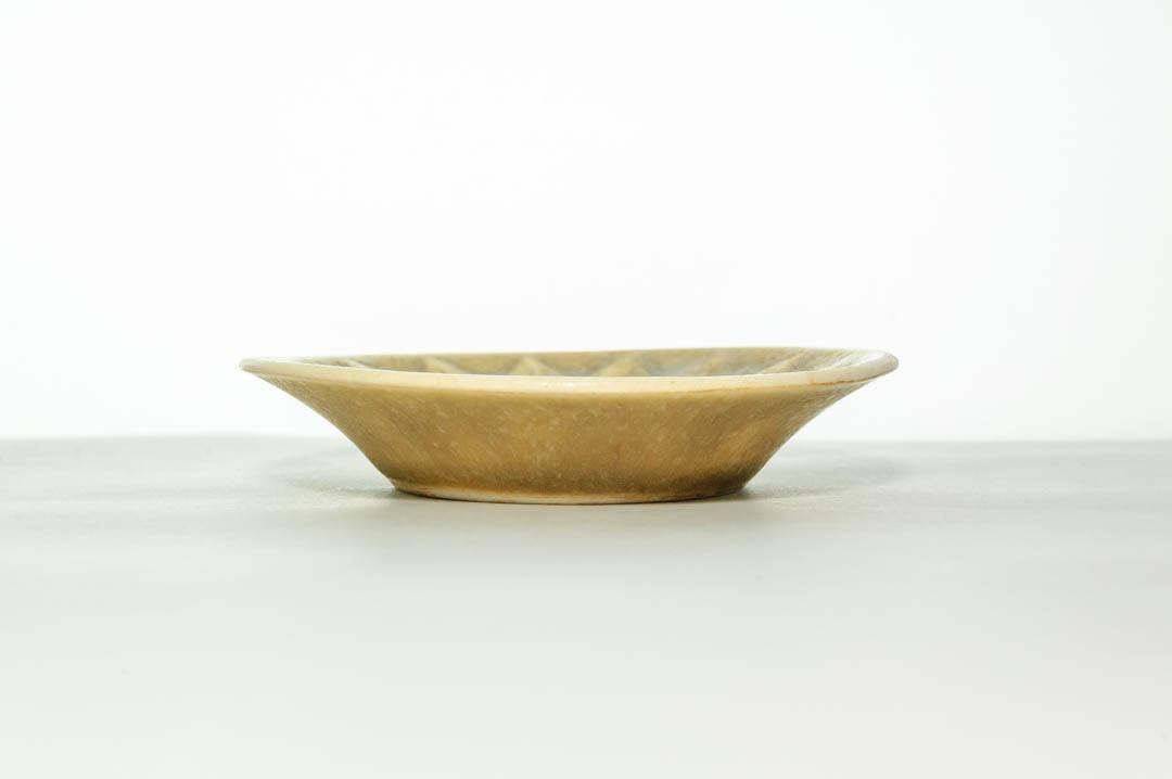 北欧食器 デンマーク KRONJYDEN Jens.H.Quistgaard Relief プレート 豆皿