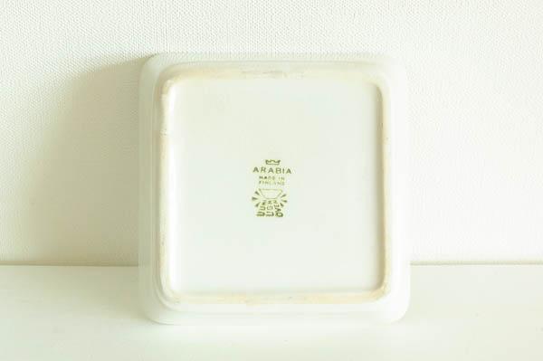 北欧食器 フィンランド ARABIA アラビア KILTA カイ・フランク プレート