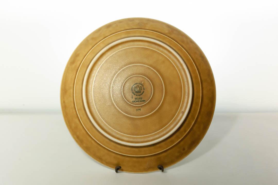 北欧食器 デンマーク ビングオーグレンダール Jens.H.Quistgaard Relief プレート