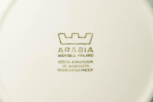 北欧雑貨 フィンランド ARABIA アラビア ビンテージ プレート