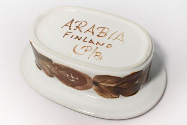 北欧雑貨 フィンランド ARABIA Ulla Procope Rosmarin バターケース