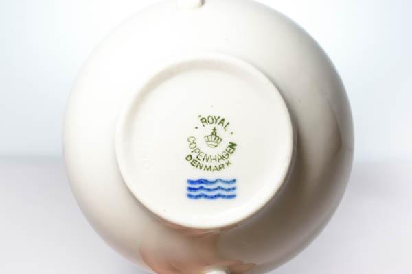 北欧雑貨 デンマーク ロイヤル コペンハーゲン カップ&ソーサー ダブルハンドル