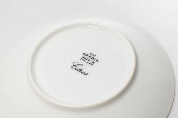 北欧雑貨 フィンランド ARABIA Richard Lindh Citrus カップ&ソーサー