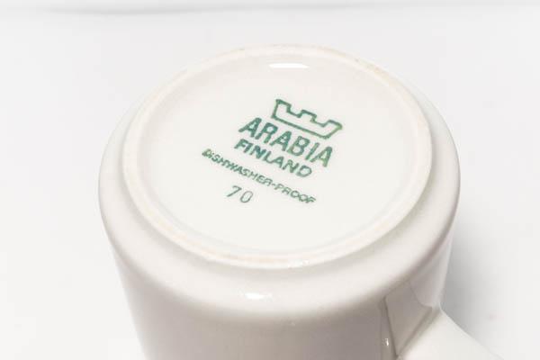 北欧食器 フィンランド ARABIA Fennica Ulla Procope Richard Lindh カップ&ソーサー