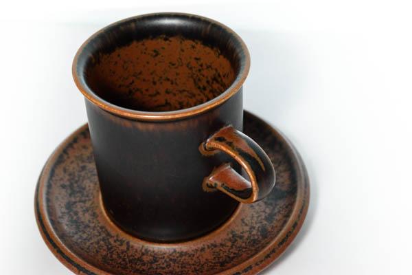 北欧食器 フィンランド ARABIA Ruska カップ&ソーサー