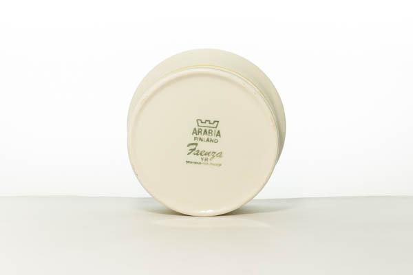 北欧雑貨 フィンランド ARABIA アラビア faenza vintage シュガーボウル