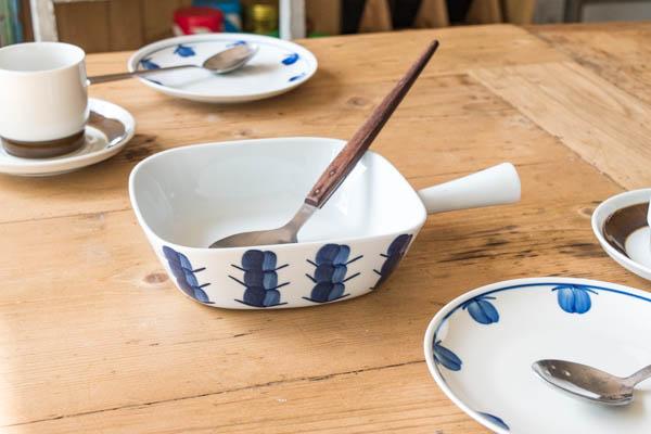 北欧雑貨 デンマーク リュンビュー ピクニック Blueberry 耐熱皿