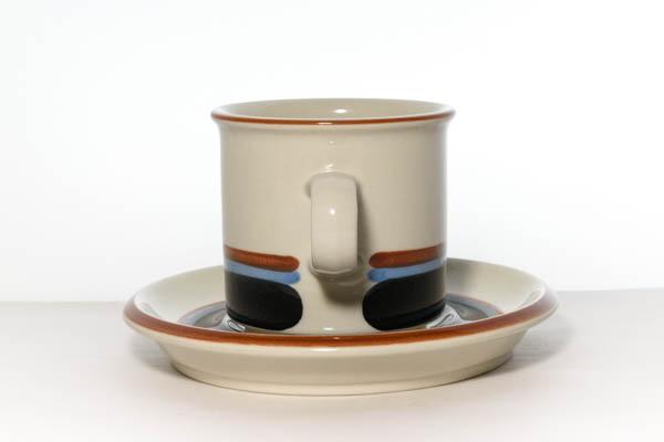 北欧食器 Finland ARABIA Taika Ulla Procope Inkeri Seppala カップ&ソーサー