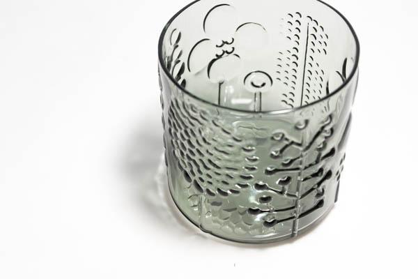 北欧食器 フィンランド Nuutajarvi Flora ショットグラス